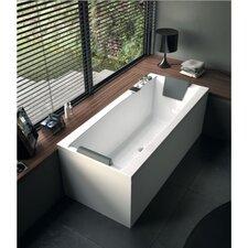 """Eden 70.9"""" x 31.5"""" Corner Bathtub"""