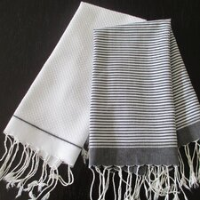 Lurex Fouta Hand Towel (Set of 2)