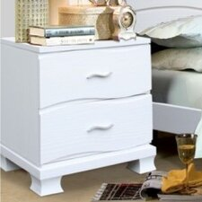 Acacia 2 Drawer Nightstand