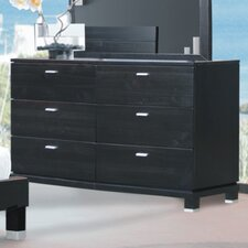 <strong>Brazil Furniture Group</strong> Daisy 6 Drawer Dresser