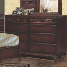 Liverpool 8 Drawer Dresser