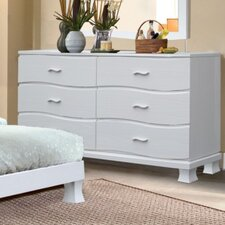 <strong>Brazil Furniture Group</strong> Acacia 6 Drawer Dresser