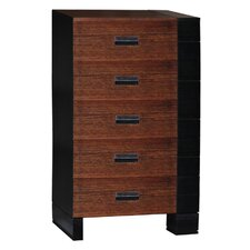 <strong>Brazil Furniture Group</strong> Geranium 5 Drawer Chest
