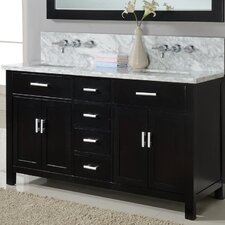"Hutton 63"" Double Bathroom Vanity Set"