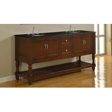 "Harvest 70"" Double Sink Bathroom Vanity Set"