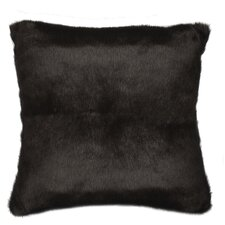 <strong>TOSS by Daniel Stuart Studio</strong> Faux Fur Sable Cotton Pillow