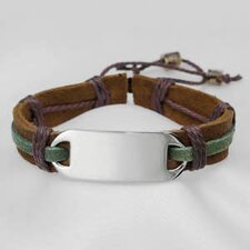 <strong>Sticky Jewelry</strong> Leather and Hemp Bracelet