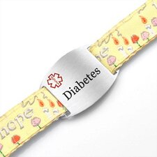Children's Diabetes Hope Sport Strap ID Bracelet