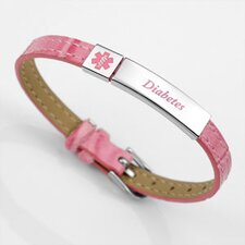 <strong>Sticky Jewelry</strong> Diabetes Medical ID Bracelet