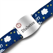 Children's Diabetes Dream Sport Strap ID Bracelet