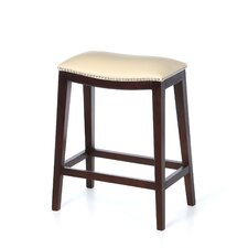 "Southwest Backless 24"" Bar Stool with Cusion"