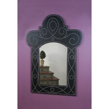 Madrid  Nail Head Wall Mirror