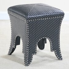 <strong>Ultimate Accents</strong> Bling Sparkle Ottoman