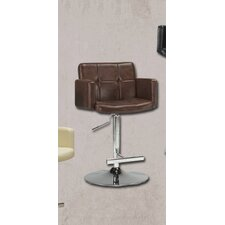 "25.5"" Adjustable Bar Stool with Cushion"