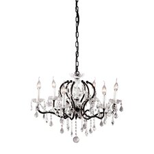 Gypsum 6 Light Pendant