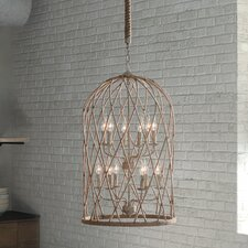 Coal 12 Light Foyer Pendant
