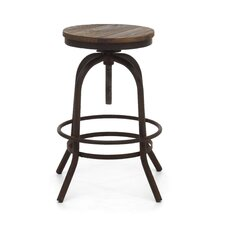 "Twin Peaks 31"" Swivel Bar Stool"