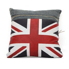 Cowboy Denim UK Flag Cushion