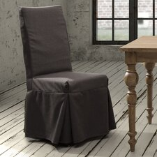 Dog Patch Linen Slipcovered Chair (Set of 2)