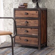 <strong>Zuo Era</strong> Fort Mason 4 Drawer Cabinet