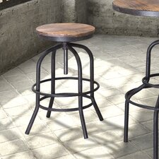 "Twin Peaks 34.6"" Swivel Bar Stool"