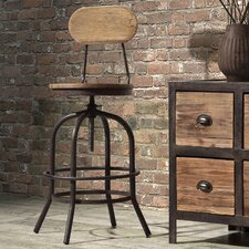 Twin Peaks Swivel Bar Stool