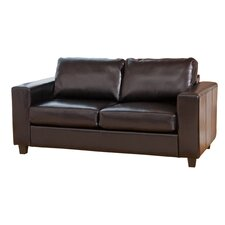 Compact Style Bonded Leather 3 Seater Sofa