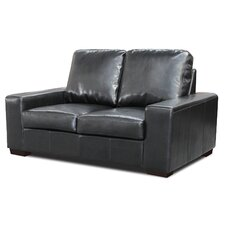 Pocket Sprung Bonded Leather 2 Seater Sofa