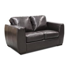 Contemporary Bonded Leather 2 Seater Sofa