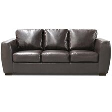 Contemporary Bonded Leather 3 Seater Sofa