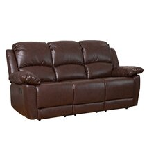 Bonded Leather 3 Seater Recliner