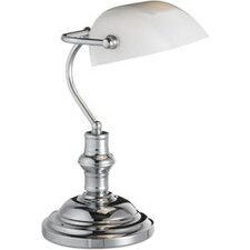 1 Light Bankers Table Lamp