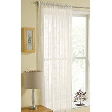 Banbury Voile Slot Top Single Panel Curtain