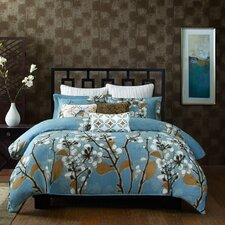 Sakura 3 Piece Full/Queen Comforter Mini Set