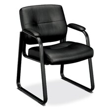 <strong>Basyx by HON</strong> VL690 Series Guest Leather Chair