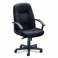 VL600 Series Mid-Back Chair with Loop Arms