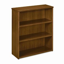BW Veneer 3 Shelf Bookcase