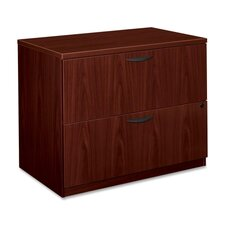 <strong>Basyx by HON</strong> BL Laminate Two-Drawer Lateral File