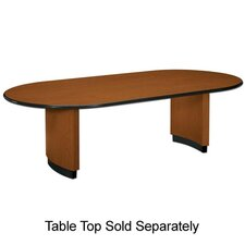 Oval Conference Table with Plinth