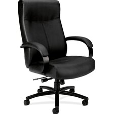 <strong>Basyx by HON</strong> VL685 Executive High Back Leather Big and Tall Chair