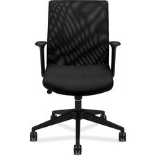 <strong>Basyx by HON</strong> Midback Mesh Chair with Arms