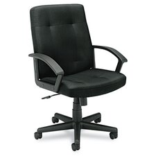 <strong>Basyx by HON</strong> VL602 Series Mid-Back Chair with Loop Arms