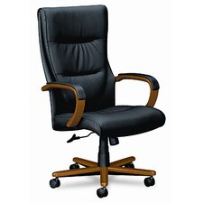 <strong>Basyx by HON</strong> VL844 Series High-Back Leather Office Chair