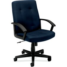 VL602 Series Mid-Back Chair with Loop Arms