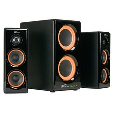 <strong>Eagle Tech</strong> 2.1 Soundstage Speaker with Dual Subwoofer
