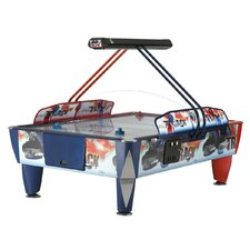 Double Fast Track 9' 4 Player Air Hockey Game
