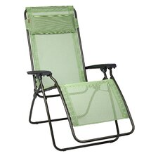 R Clip Clipped Relaxer Folding Chair