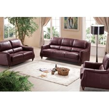 Marietta Leather Sofa Set