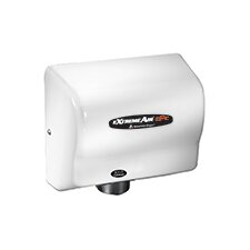 Adjustable High Speed 100 - 240 Volt Hand Dryer in White