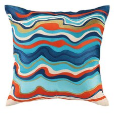 Waterflow Throw Pillow